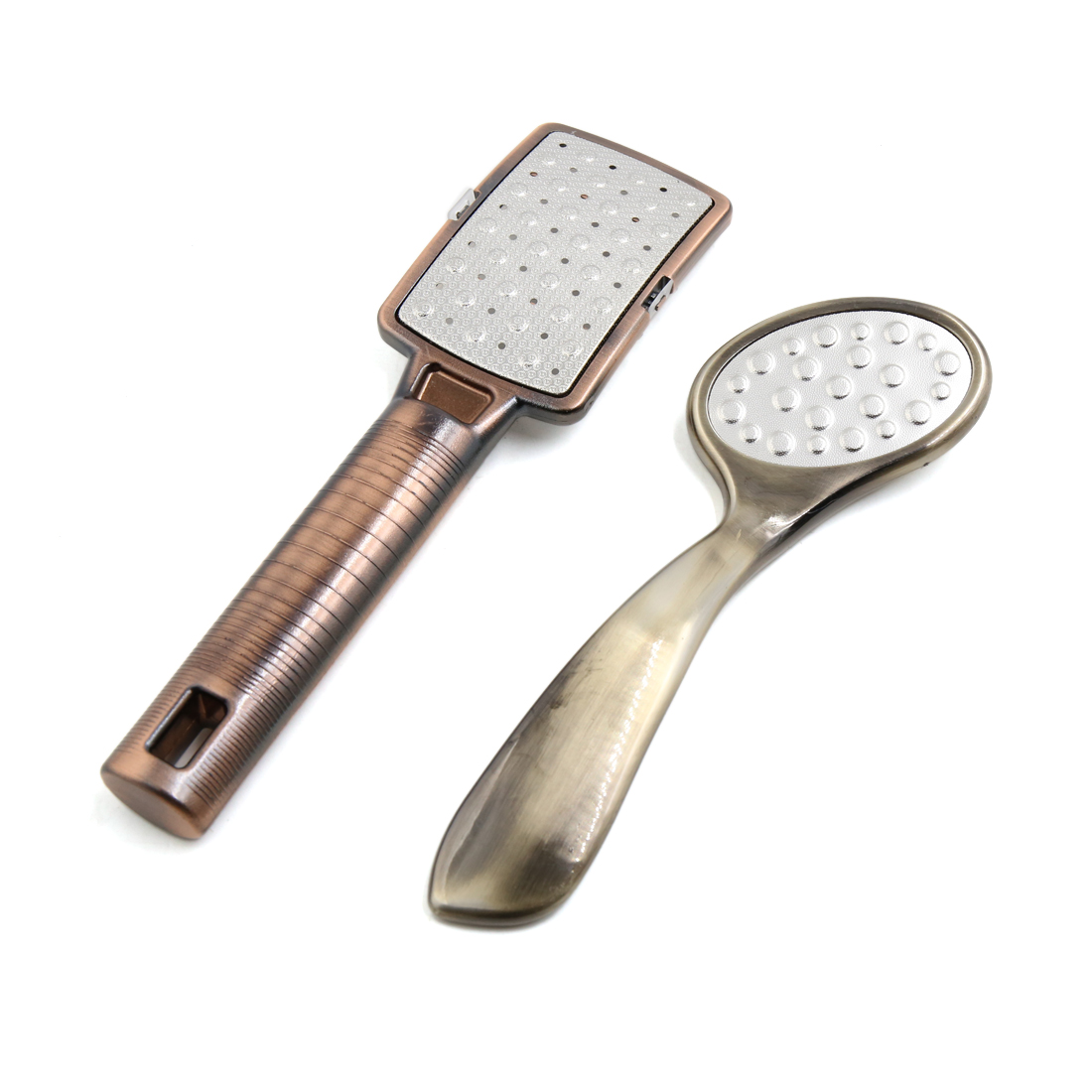 1 Set Metal Blade Foot Care Pedicure Calluses Corn Exfoliates Remover Scrubber File Rasp Tool