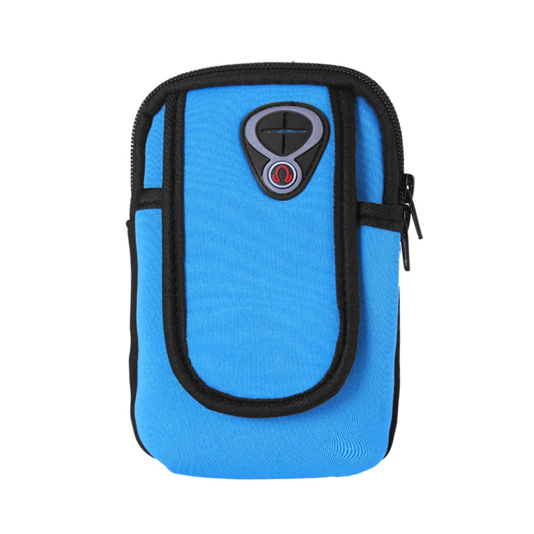 Blue Phone Key MP3 Wallet Pouch Sports Running Arm Package Band Bag Case Cover Storage