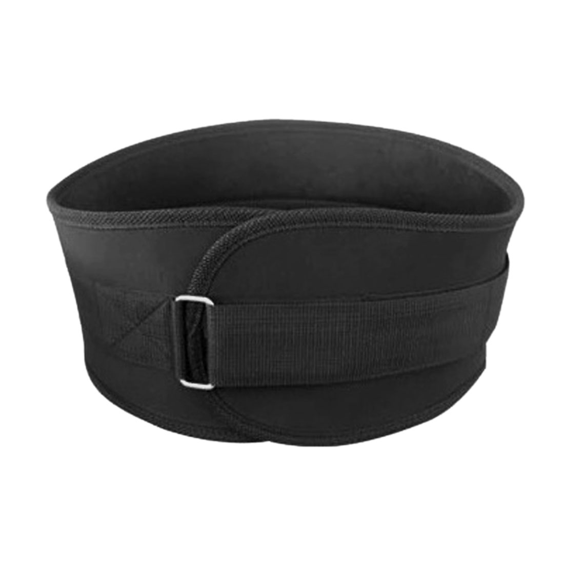 Black L Size Unisex Adjustable Lumbar Lower Waist Back Support Brace Belt Strap