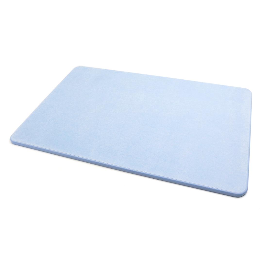 Light Blue Bath Mat Diatomaceous Earth Absorbent Fast Drying Anti Slip Bathroom Floor Mats