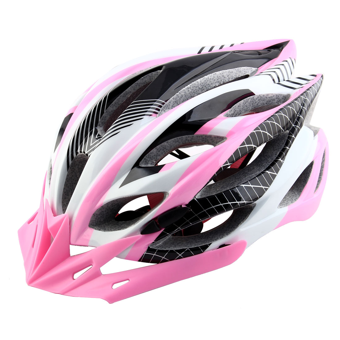Patent Authorized Adult Unisex Removable Visor Cycling Cap Bicycle Hat Adjustable Safety Bike Helmet Pink