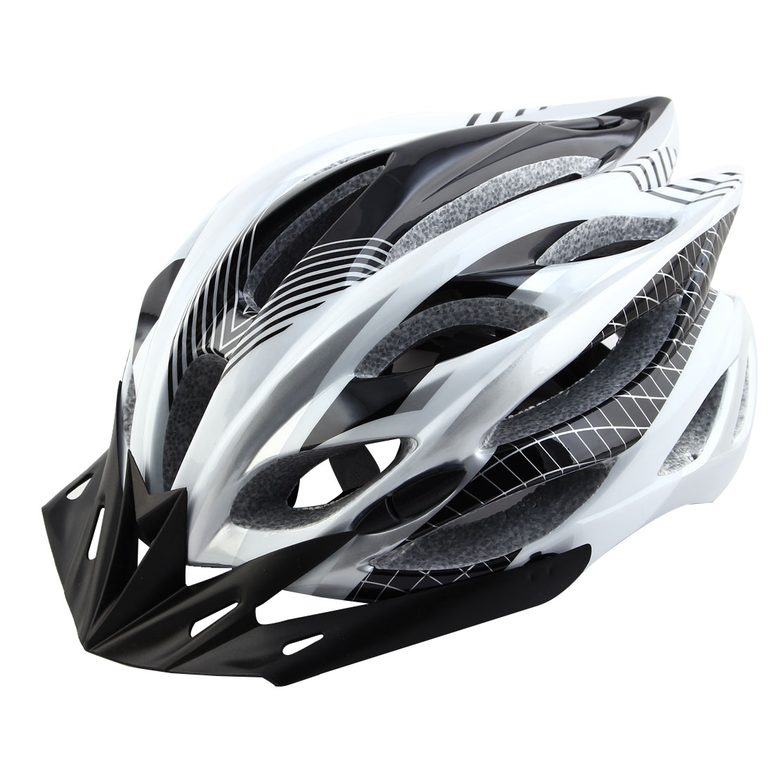 Patent Authorized Adult Unisex Removable Visor Cycling Cap Bicycle Hat Adjustable Safety Bike Helmet White