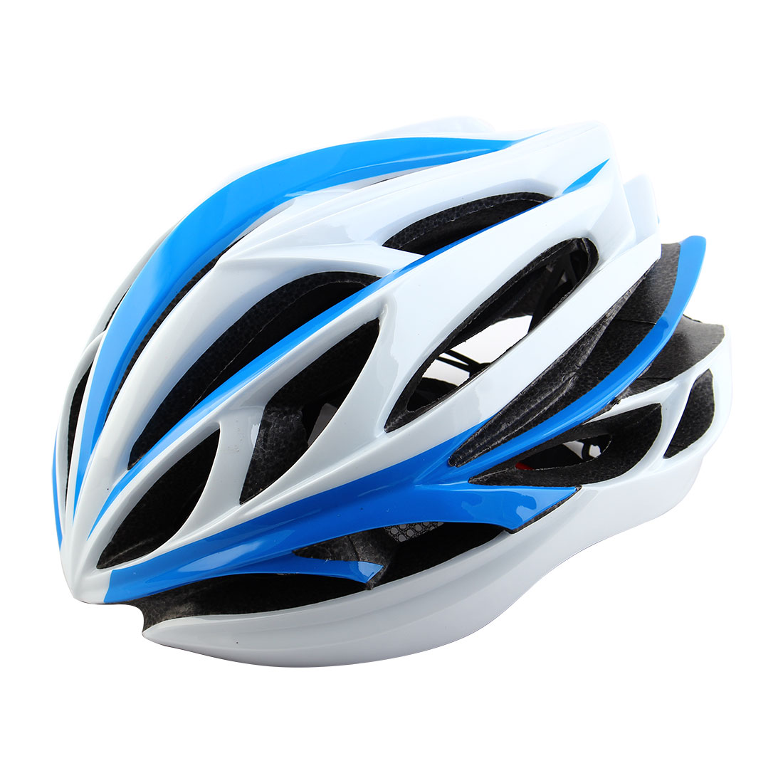 Patent Authorized Adult Unisex 22 Holes Cycling Cap Bicycle Hat Safety Protector Adjustable Bike Helmet Blue
