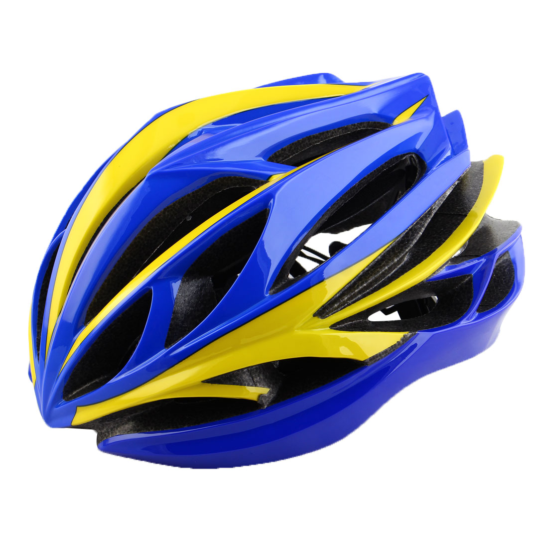 Patent Authorized Adult Unisex 22 Holes Cycling Cap Bicycle Hat Safety Protector Adjustable Bike Helmet Sapphire Blue