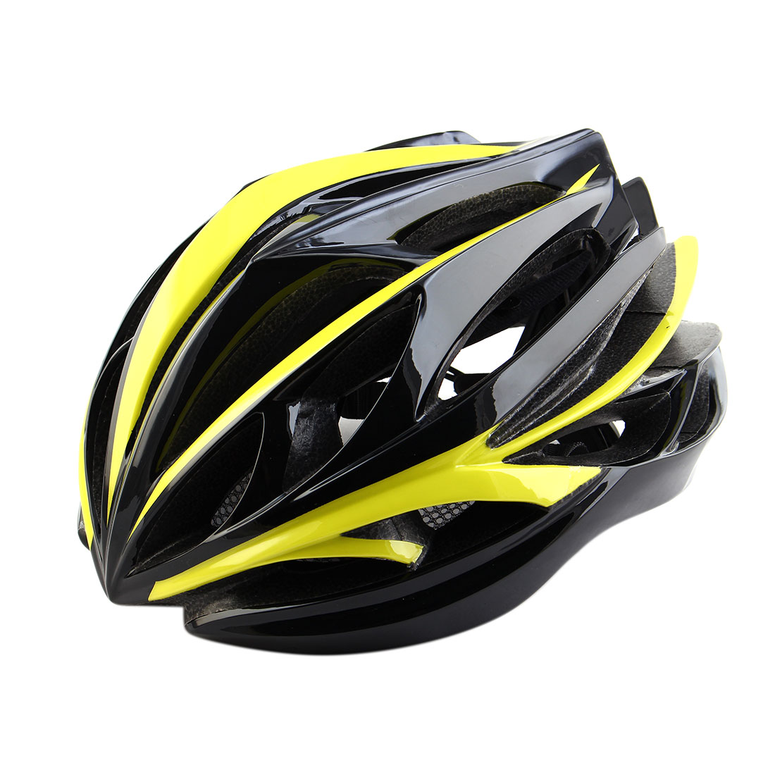 Patent Authorized Adult Unisex 22 Holes Cycling Cap Bicycle Hat Safety Protector Adjustable Bike Helmet Fluorescent Yellow