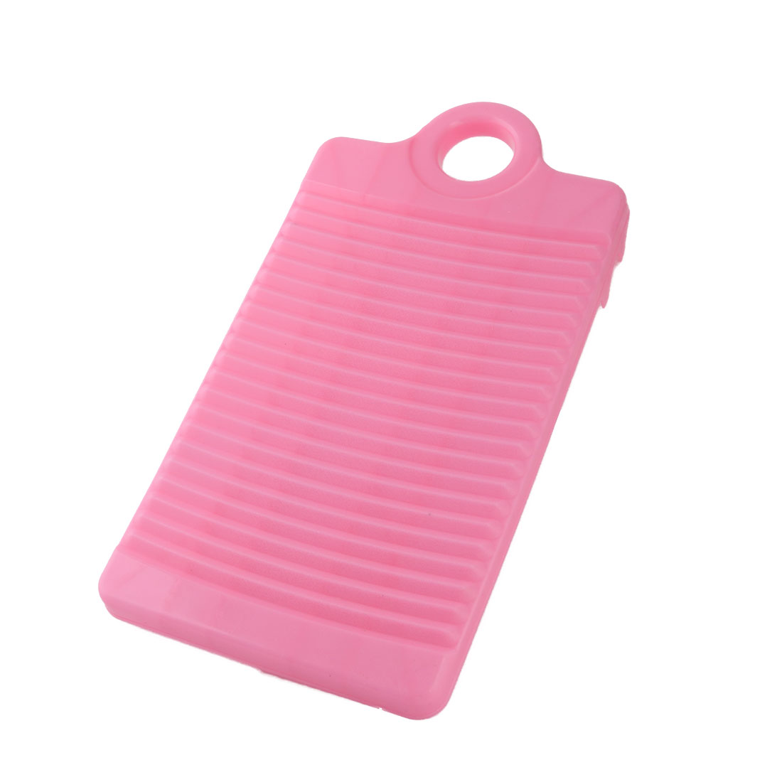 Laundry Bathroom Plastic Rectangle Clothes Garment Pants Washing Board Plate Pink