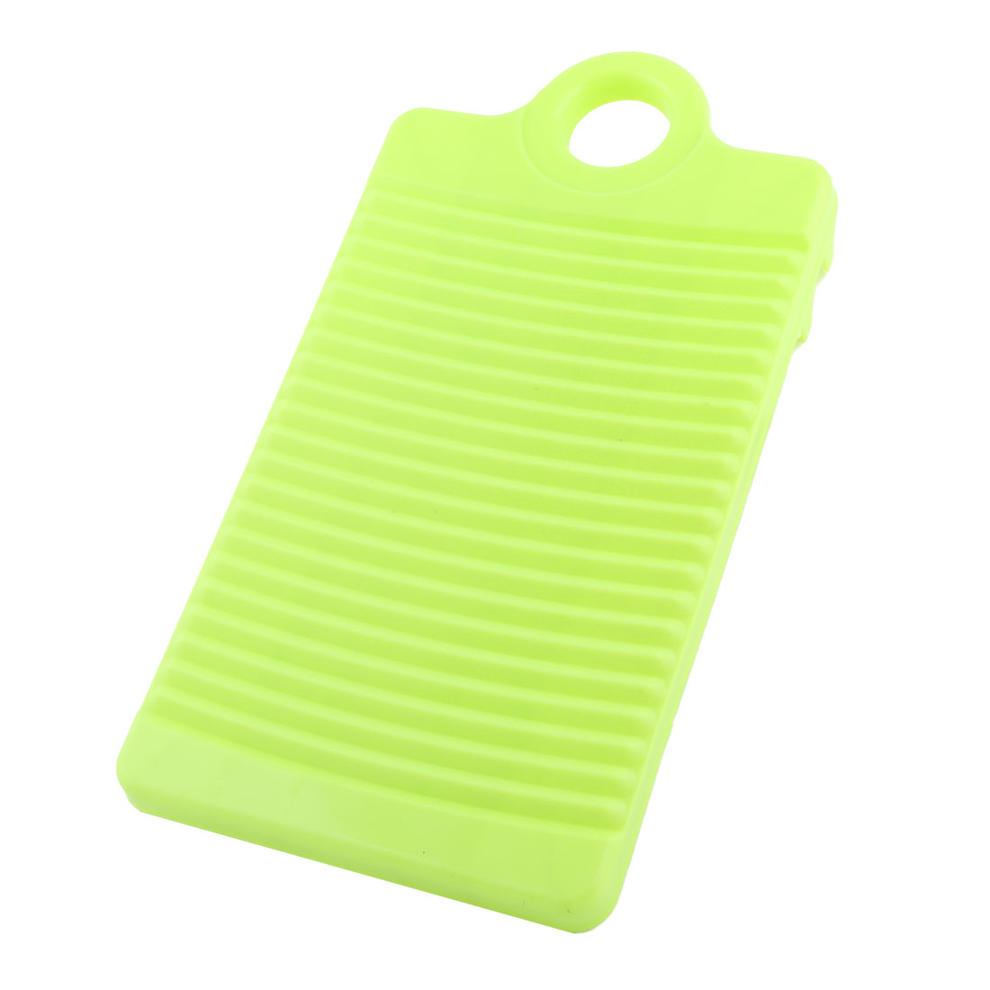 Laundry Bathroom Plastic Rectangle Clothes Garment Pants Washing Board Plate Light Green
