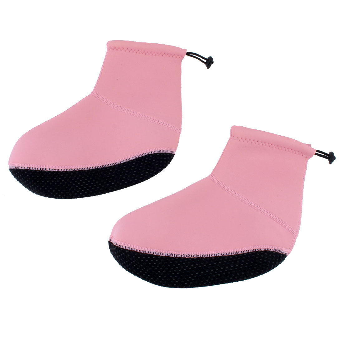 Water Sports Swim Surfing Neoprene Diving Socks Sand Volleyball Swimming Shoes Booties Pink XS