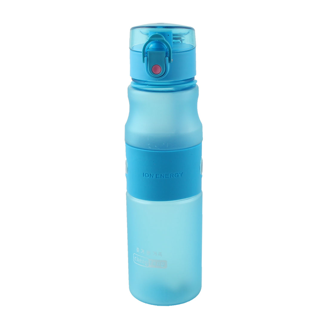 Plastic Portable Frosted Tea Cup Sport Drinking Water Bottle Mug Camping Kettle Blue 700ml