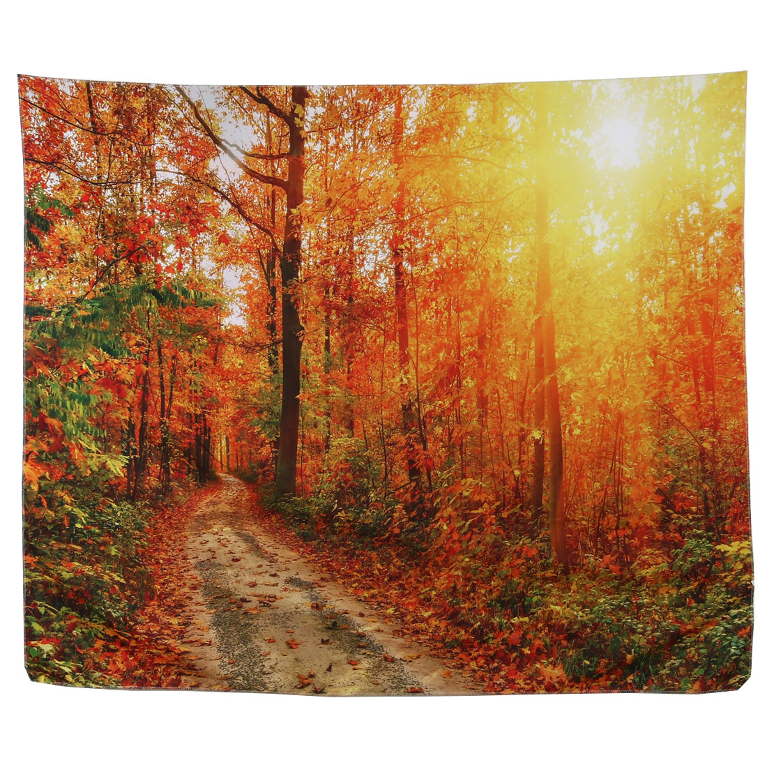 Hiking Picnic Beach Polyester Tree Print Rectangle Water Resistant Blanket Mat
