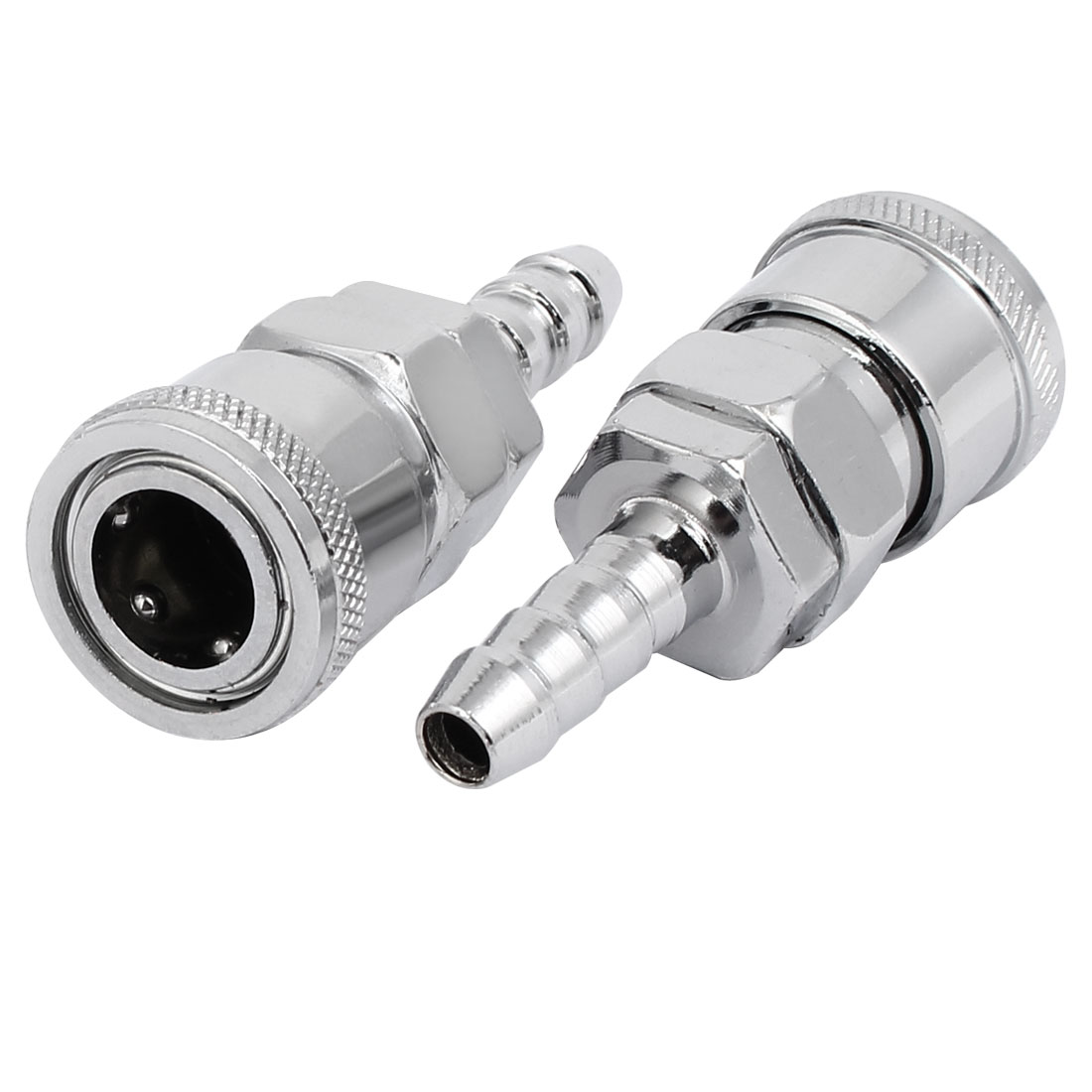 SH-20 Air Compressor Zinc Plated Quick Coupler 2PCS for 8mm Pipe Inner Dia