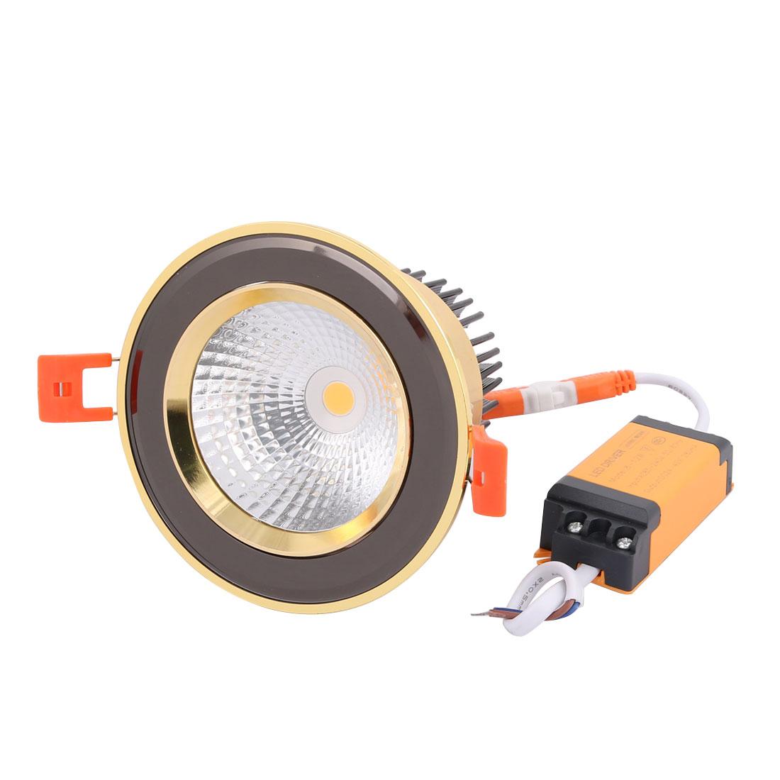 AC85-265V 12W 3000K LED Downlight Spotlight Retrofit Recessed Lighting Fixture