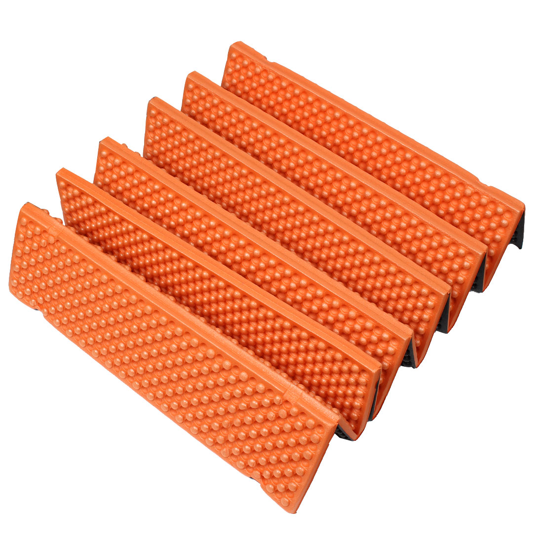 Outdoor Hiking Mountaineering Camping Picnic Dampproof Tent Foldable Mat Sleeping Foam Pad Orange