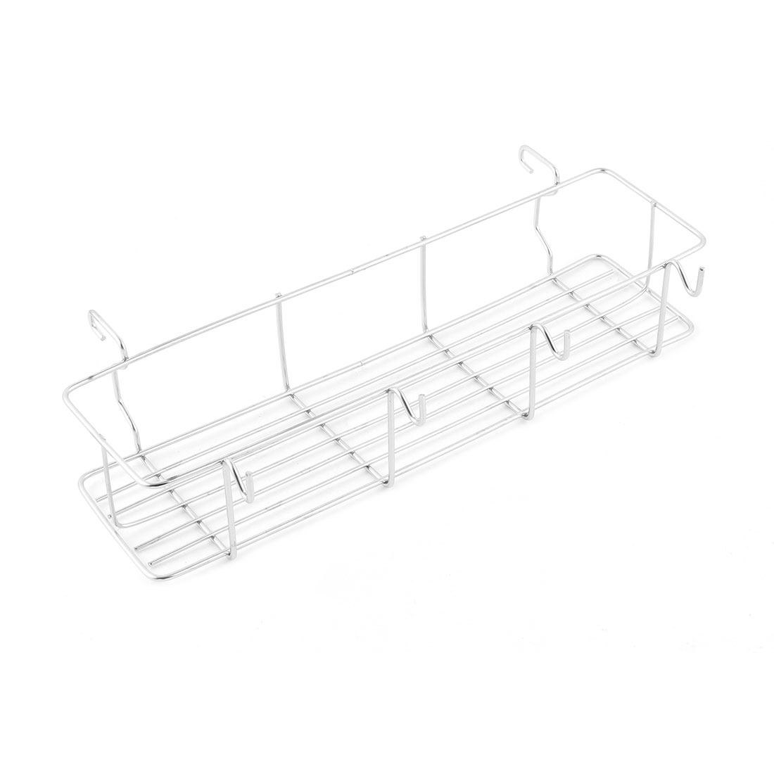 Outdoor Camping Picnic BBQ Barbucue Metal Grill Hanger Storage Shelf Holder Rack Organizer