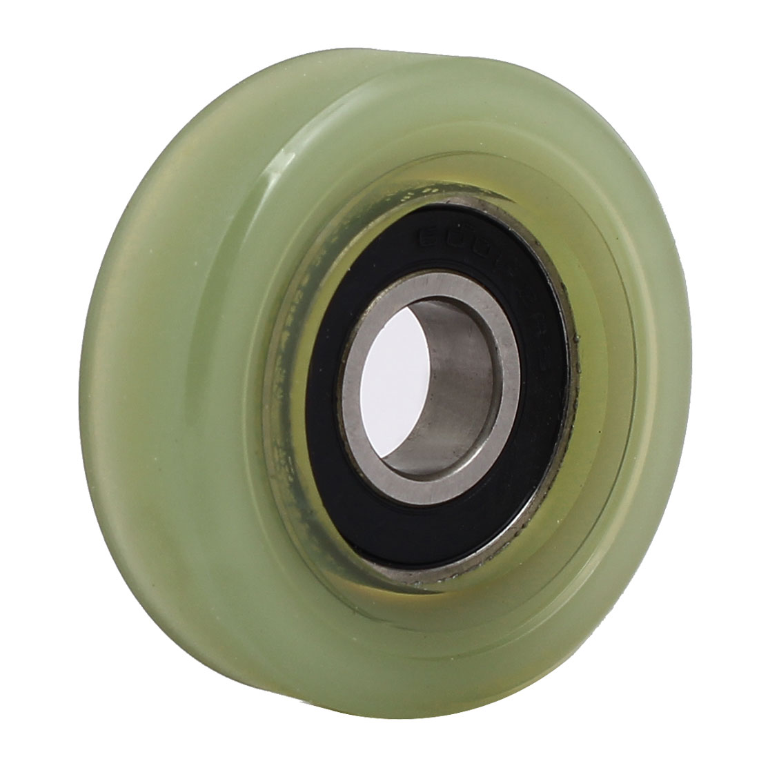 12mm x 45mm x 14mm PU Roller Bearing Pulley Sliding Converyor Wheel