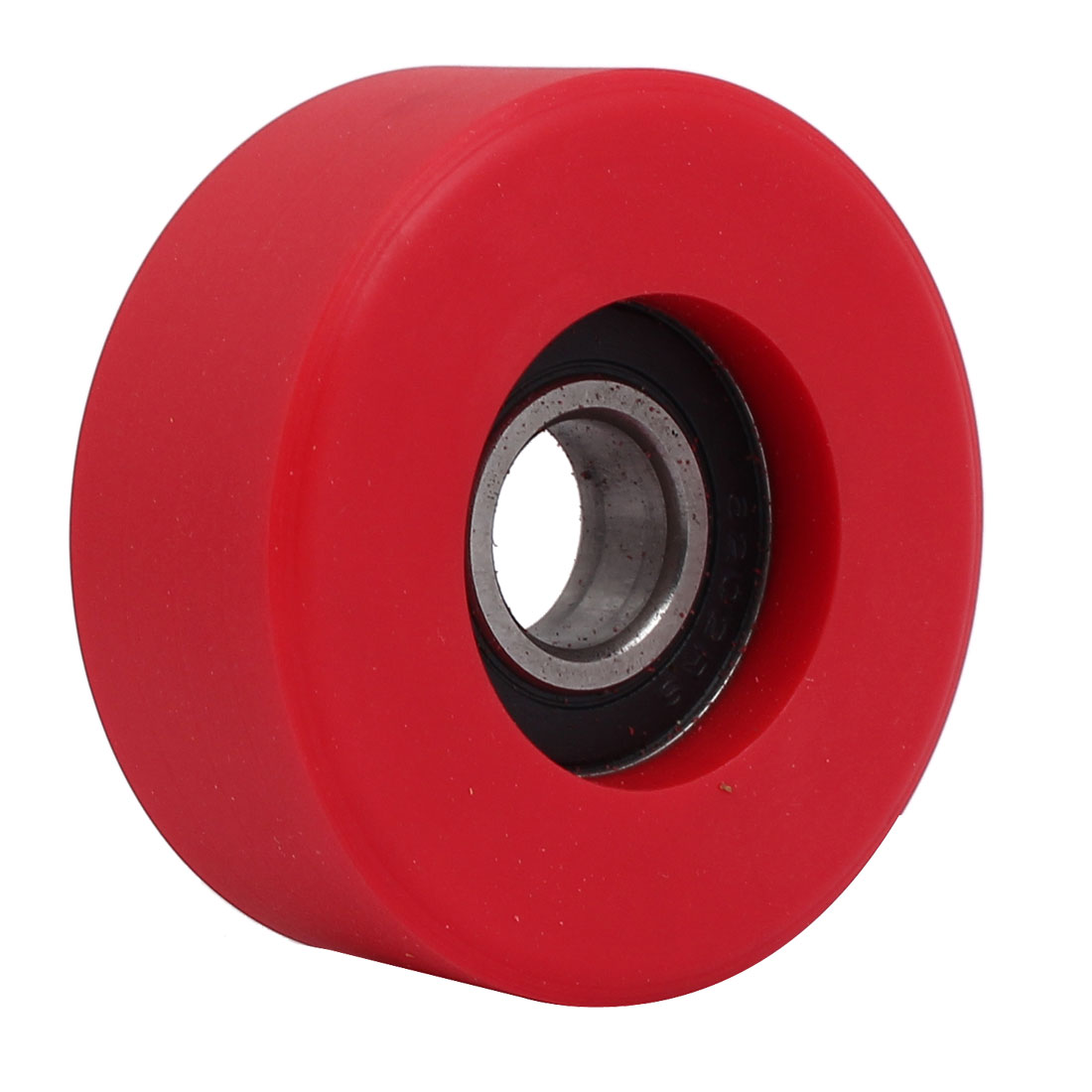 15mm x 58mm x 24mm PU Roller Bearing Pulley Sliding Converyor Wheel