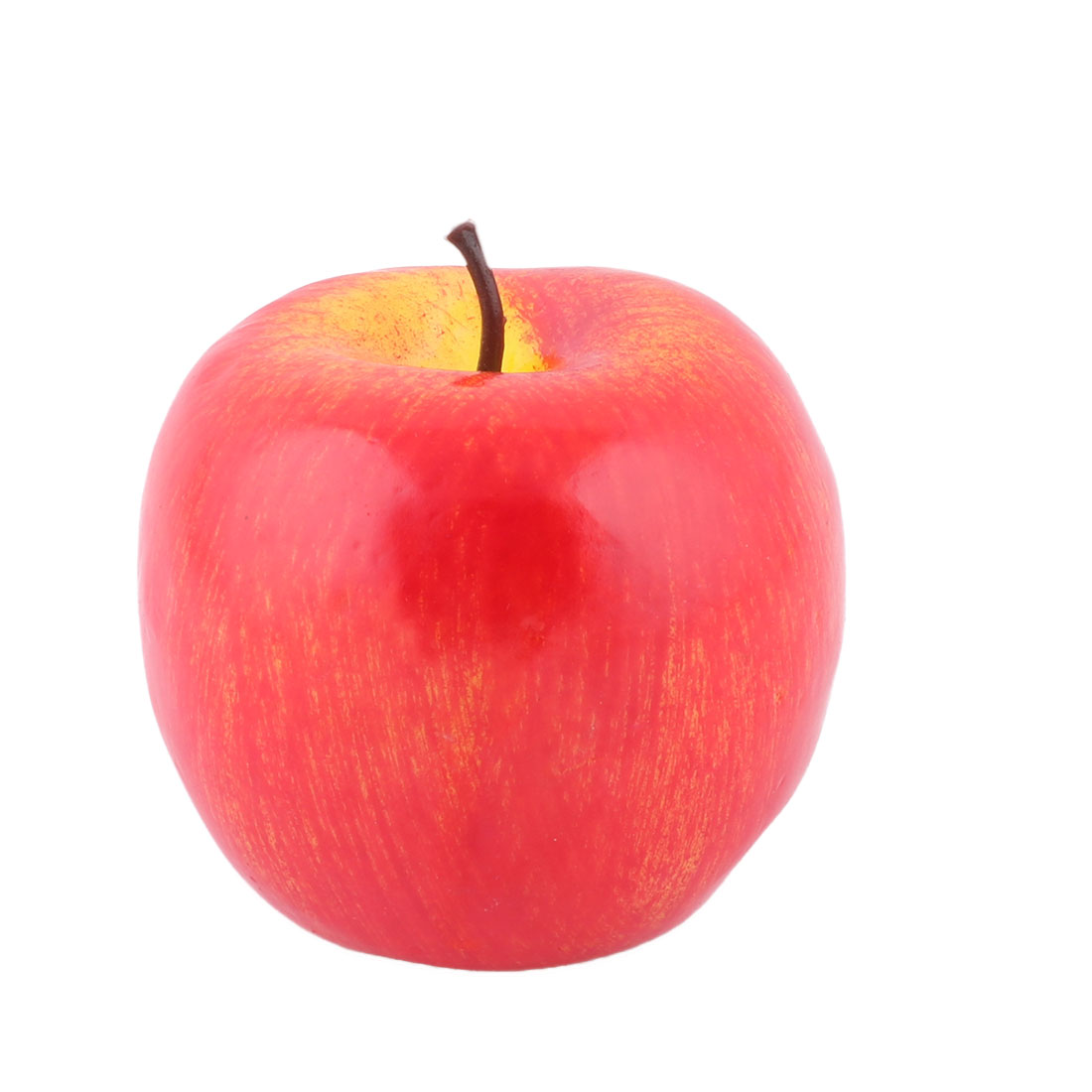 House Table Decor Foam Artificial Apple Designed Simulation Fruit Photo Prop Red