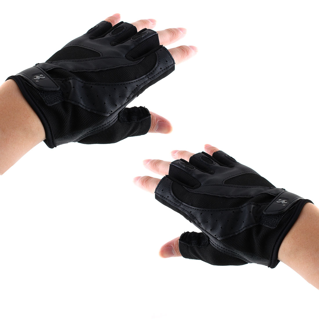 Boodun Authorized Men Sports Weight Lifting Gym Training Workout Fitness Palm Support Gloves Size S Pair