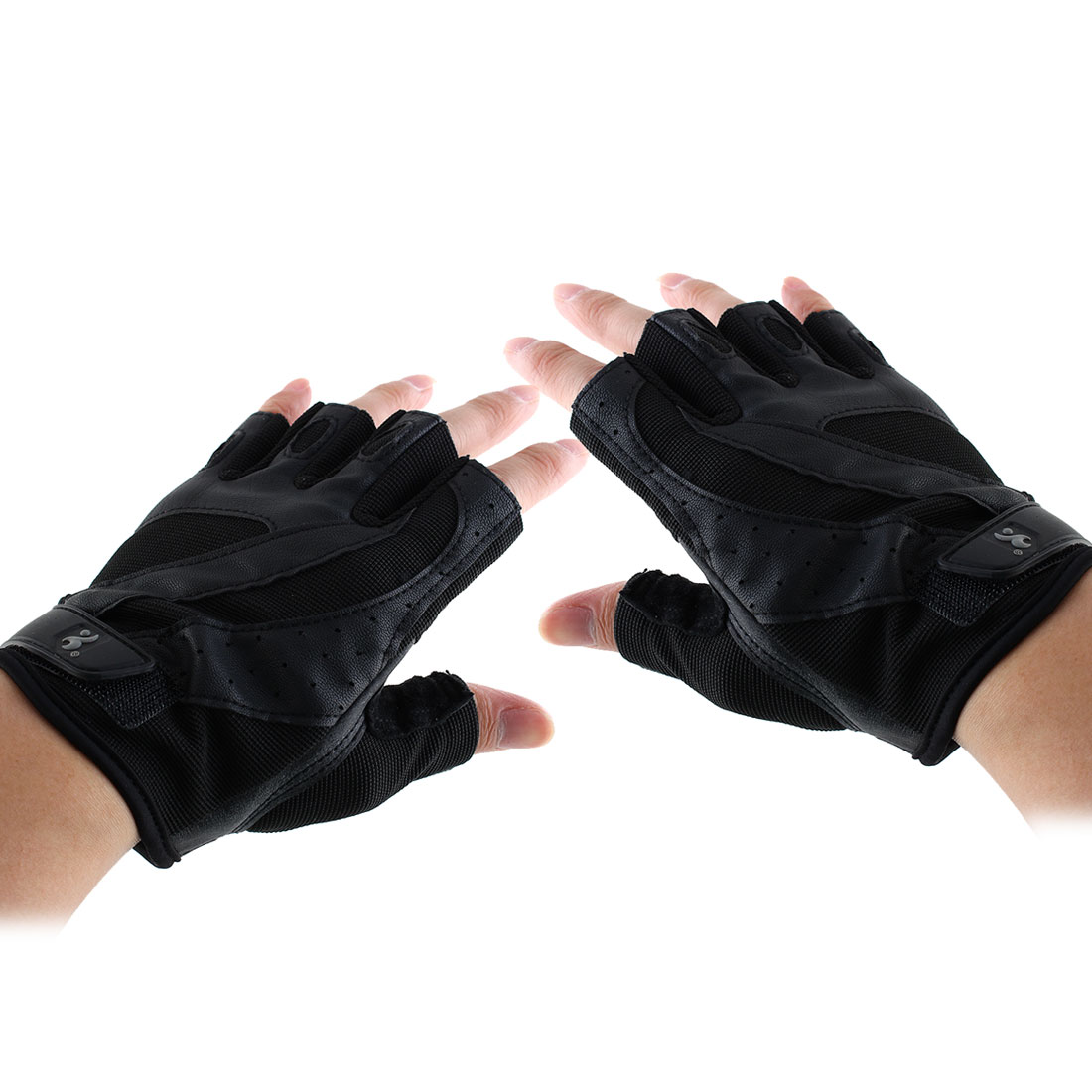 Boodun Authorized Men Sports Weight Lifting Gym Training Workout Fitness Palm Support Gloves Size XXL Pair
