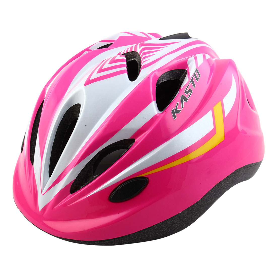 Boys Girls LED Light Adjustable Belt Removable Liner Road Cycling Mountain Bicycle Cap Safety Bike Helmet Pink White