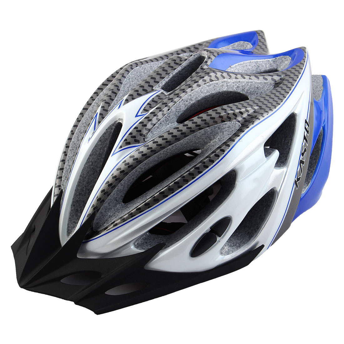 Adult 21 Holes Portable Cycling Cap Head Safety Protector Riding Hat Adjustable Biking Helmet White