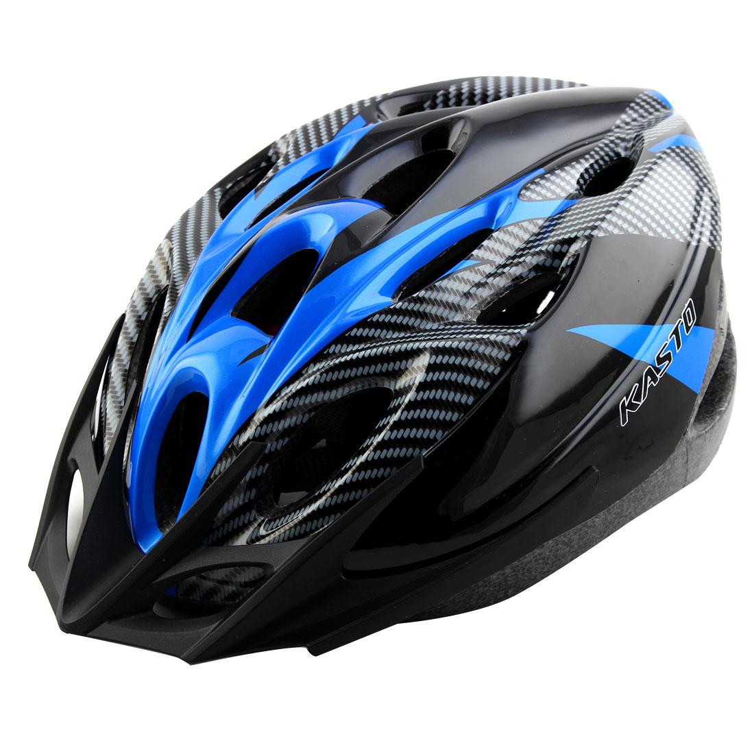 Adult 18 Holes Removable Visor Outdoor Sports Cap Portable Hat Adjustable Cycling Biking Helmet Dark Blue