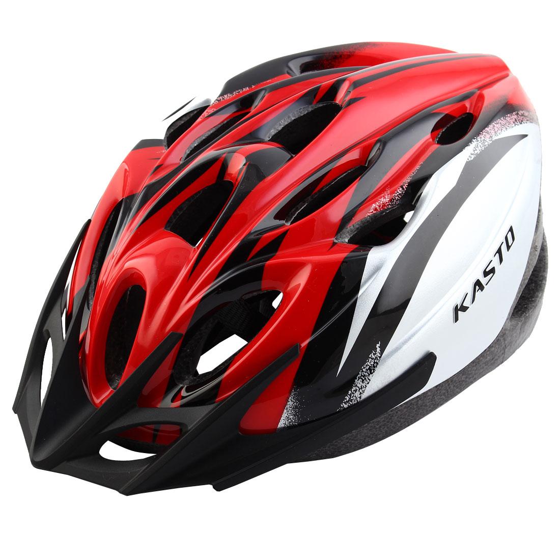 Unisex LED Light Removable Visor Outdoor Sports Cap Hat Adjustable Safety Bicycle Bike Helmet