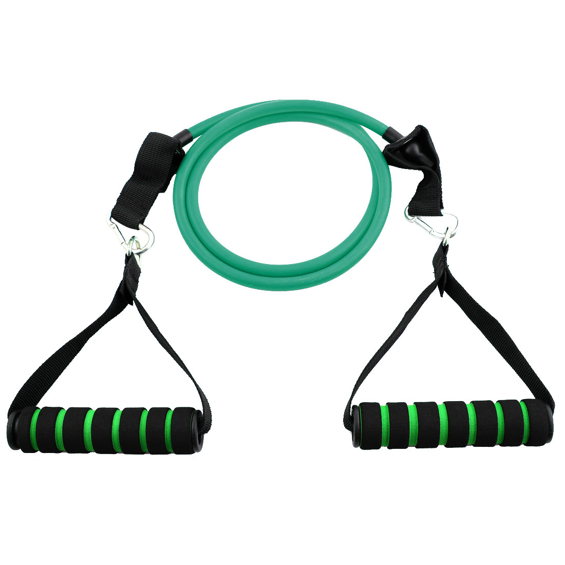 Gymnasium Door Anchor Powerlifting Resistance Tube Strength Training Rope Workout Hose Band Green