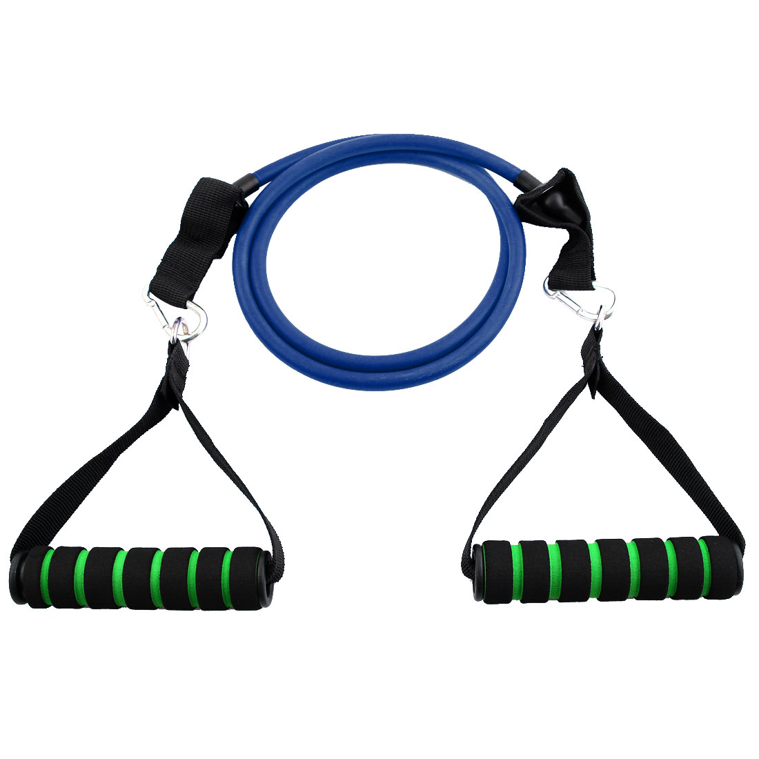 Gymnasium Door Anchor Powerlifting Resistance Tube Strength Training Rope Workout Hose Band Blue