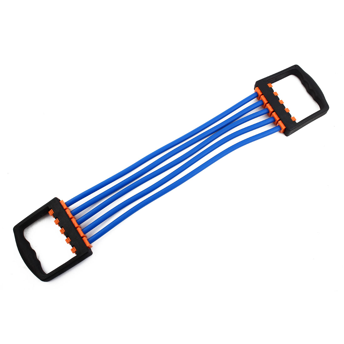 Sports Rubber Stretchy Powerlifting 5 Resistance Tube Strength Training Rope Workout Hose Blue