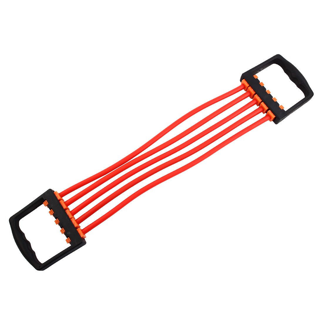 Sports Rubber Stretchy Powerlifting 5 Resistance Tube Strength Training Rope Workout Hose Red