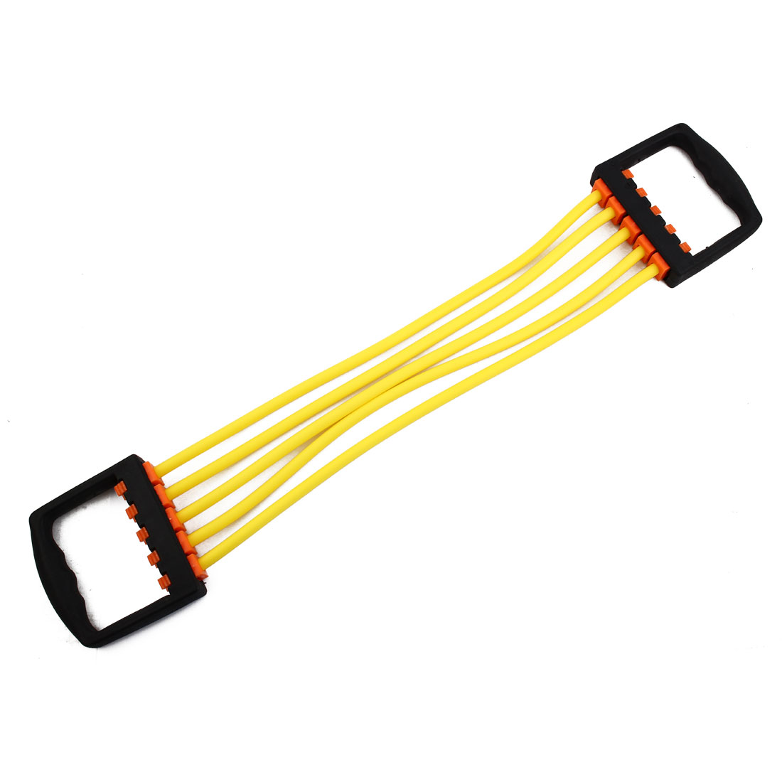Sports Rubber Stretchy Powerlifting 5 Resistance Tube Strength Training Rope Workout Hose Yellow