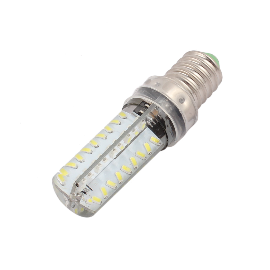 AC 220V 4W E14 3014SMD LED Corn Light Bulb 72-LED Lamp Dimmable Neutral White