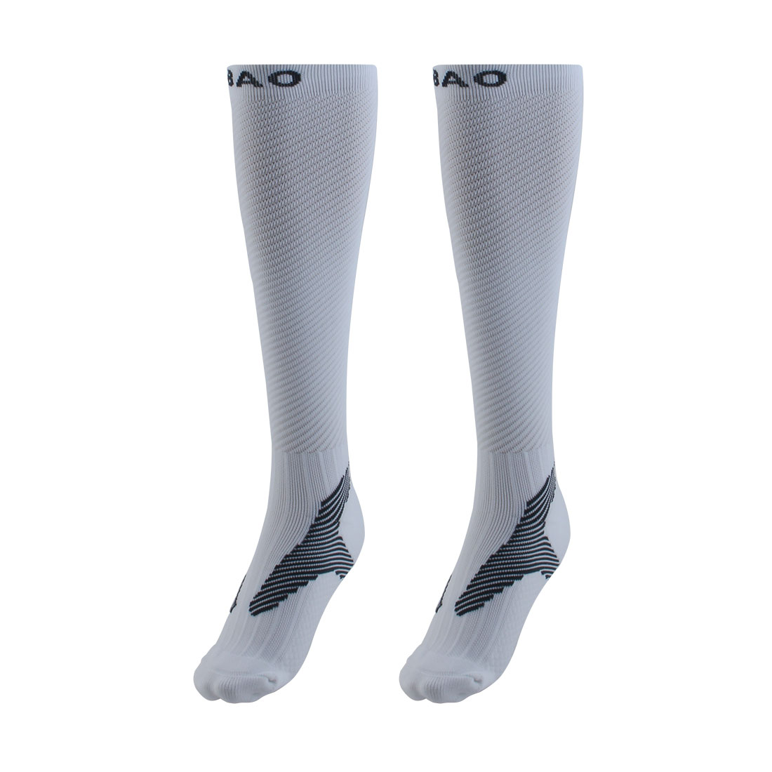 R-BAO Authorized Bicycle Jogging Mountain Bike Cotton Blend Breathable Sports Cycling Socks White L