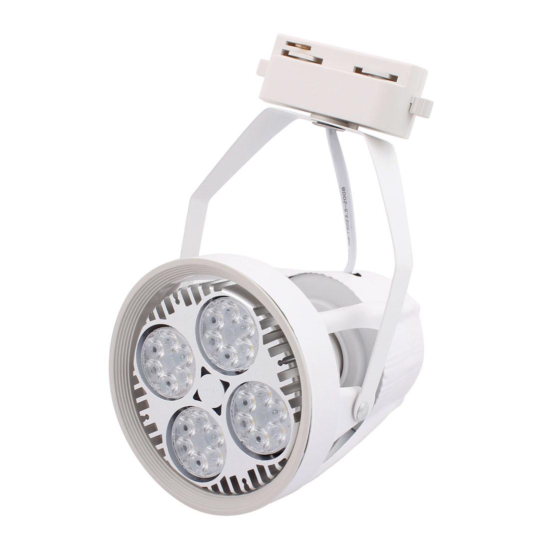 AC 180-260V 35W 3000K 24 LED Bulbs Spotlight Lamp White for House Hall Lighting
