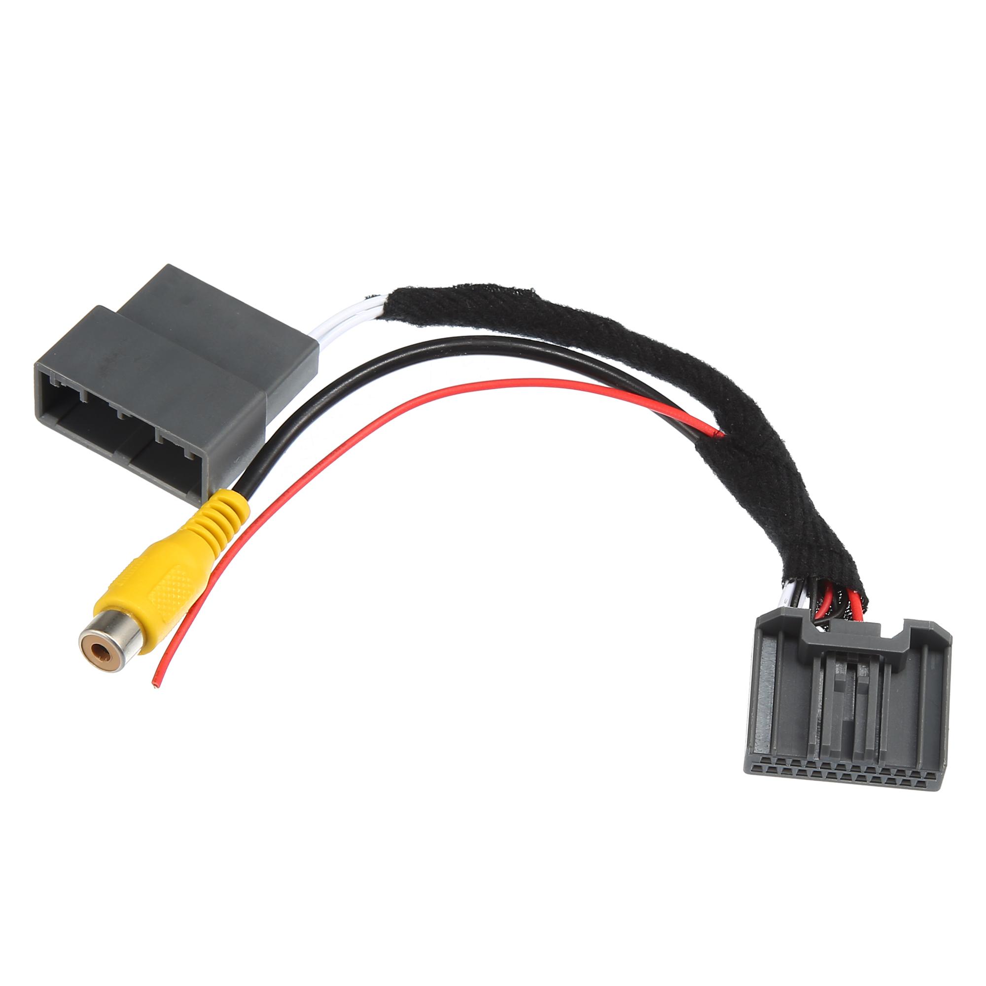 Car Navigation Reverse Rear View Camera Cable Dual Adapter for Honda Accord 2.4
