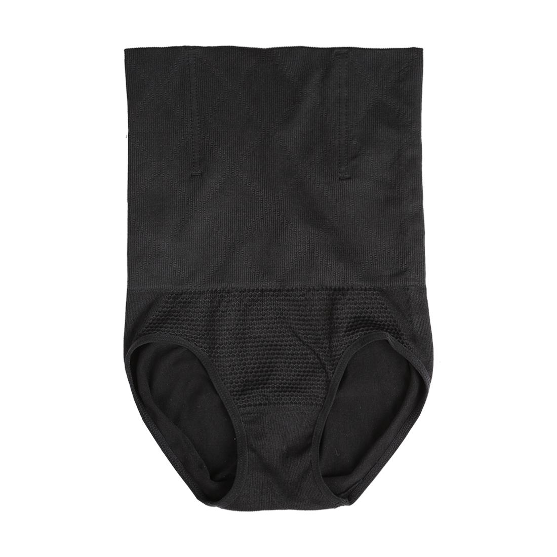 Women Tummy Control Shapewear Postpartum High Waist Brief Black XL/XXL