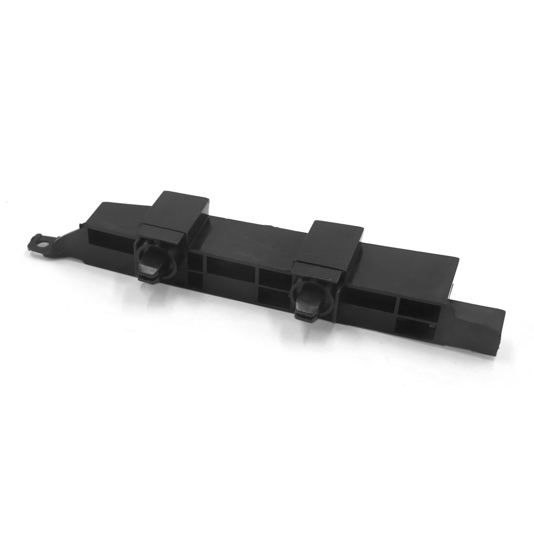 Universal Black Plastic Car Right Side Front Bumper Plate Mounting Bracket