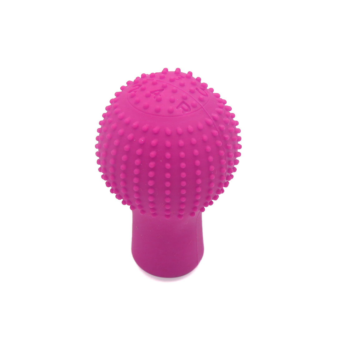 Pink Rubber Car Nonslip Round Hand Brake Head Cover Gear Shift Knob Protector