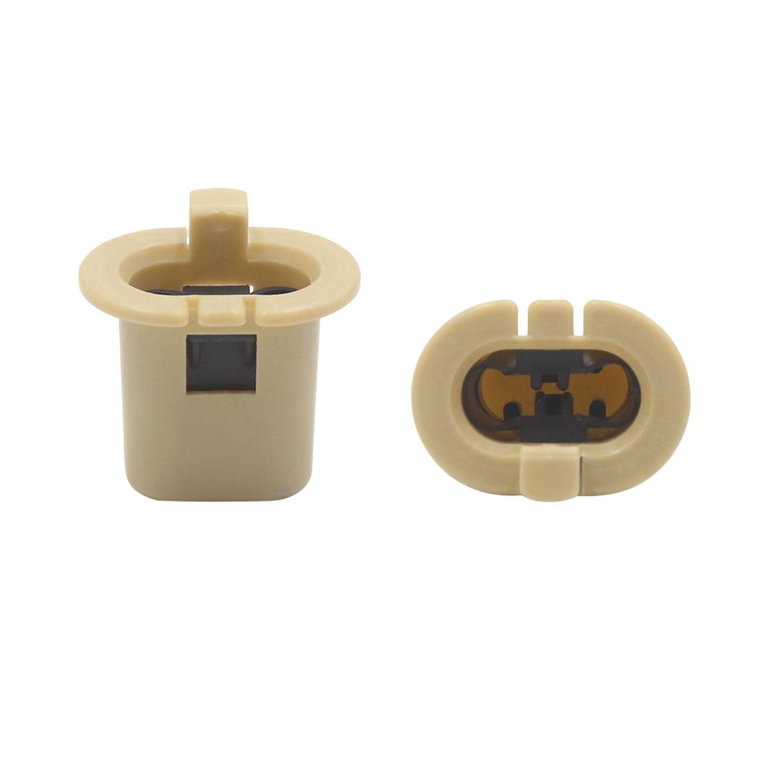 10 Pcs Khaki Plastic Car Retainer Rear Seat Buckle Clip for NISSAN MAZDA