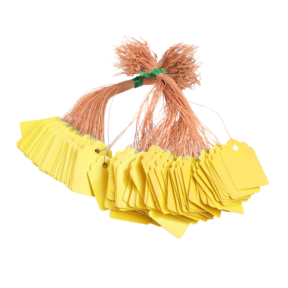 Farm Vegetable Hanging Name Tag Label Sign Marker Yellow 200pcs