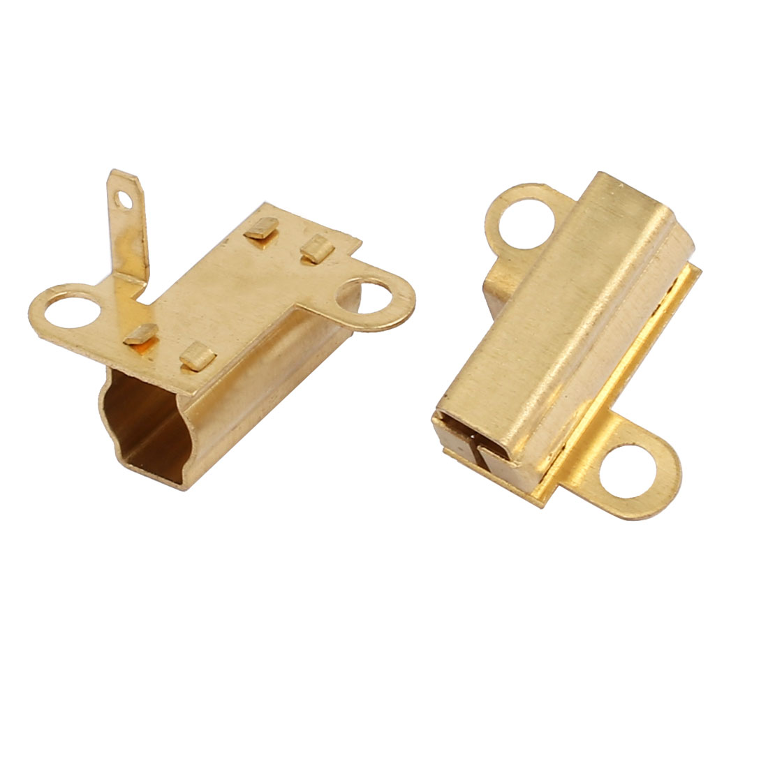 Carbon Brush Holder Gold Tone 2pcs for Bosch GBH2-20S Electric Hammer