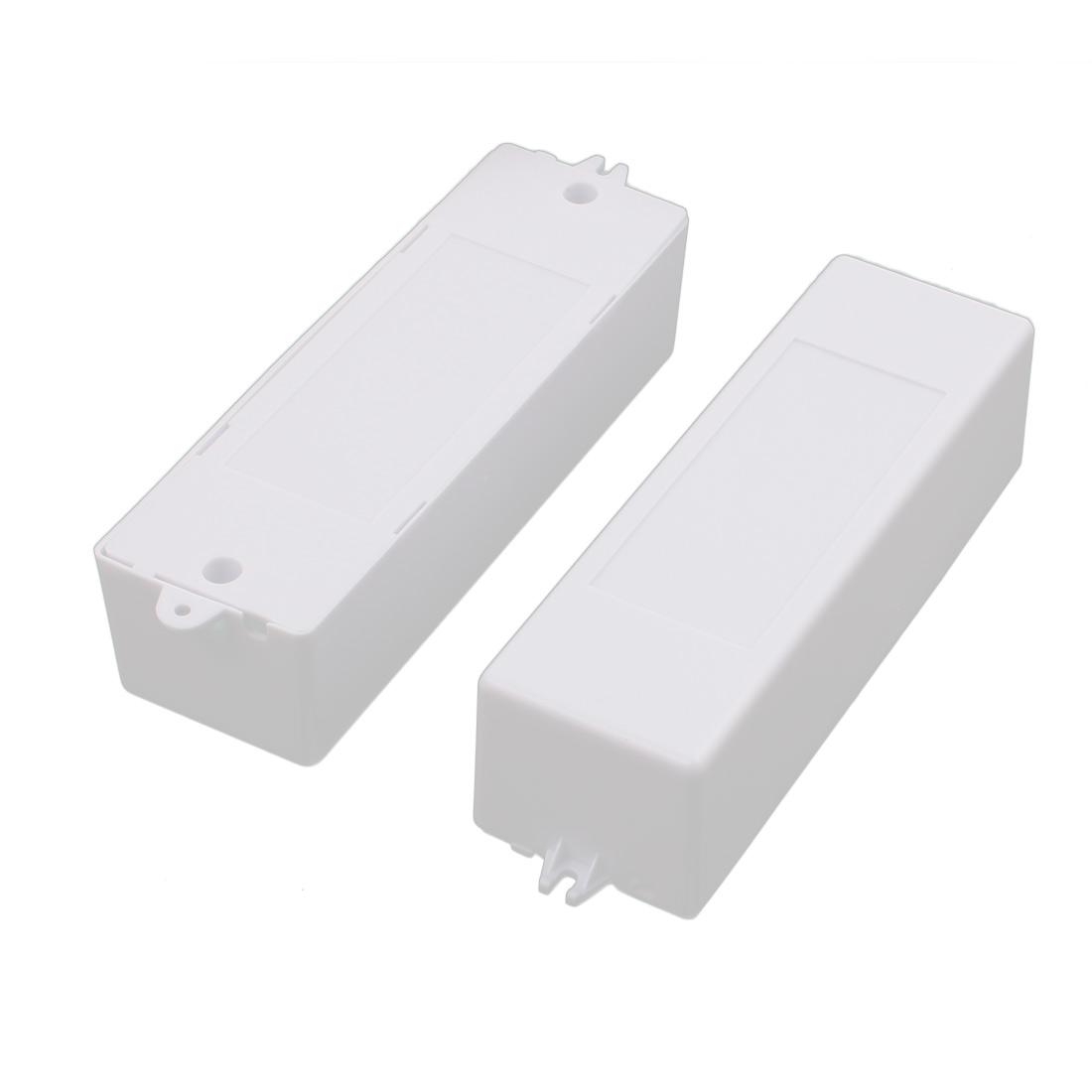 2Pcs XL168 157x46x37mm PC Flame Retardant Enclosure Junction Box for LED Driver