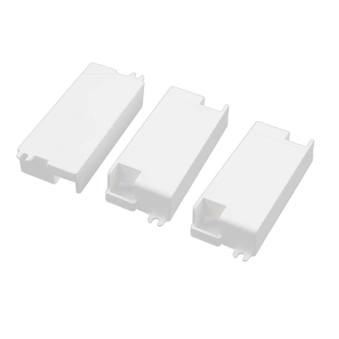 3Pcs XL-125 115x48x26mm PC Flame Retardant Enclosure Junction Box for LED Driver