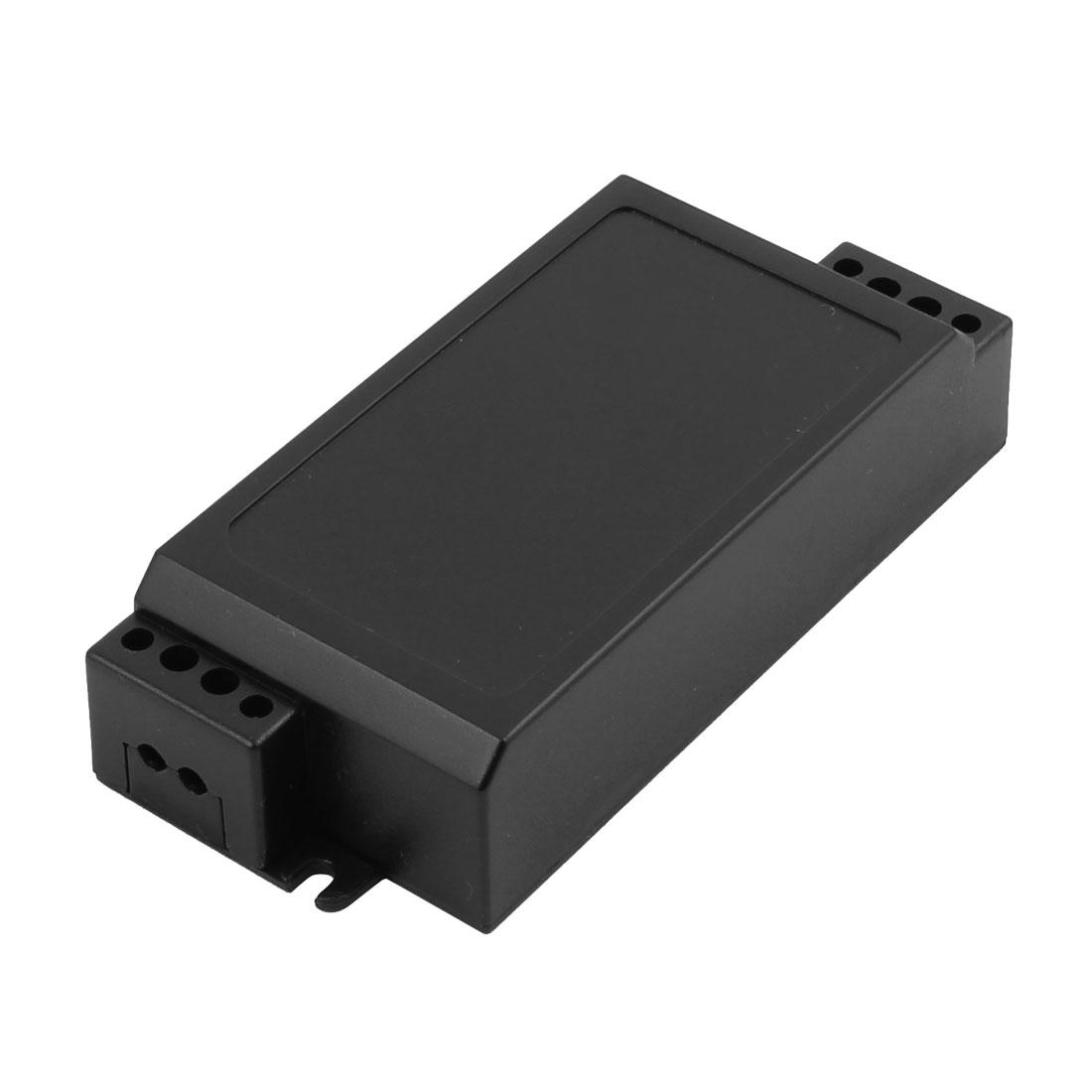 XL-147 94x43x23mm PC Flame Retardant Enclosure Junction Box for LED Driver Black