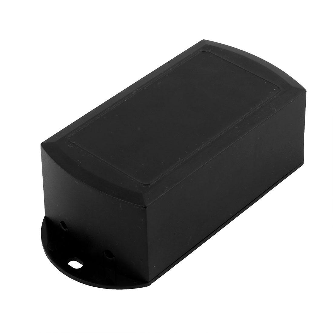 XL-169 117x52x36mm Flame Retardant Enclosure Junction Box for LED Driver Black