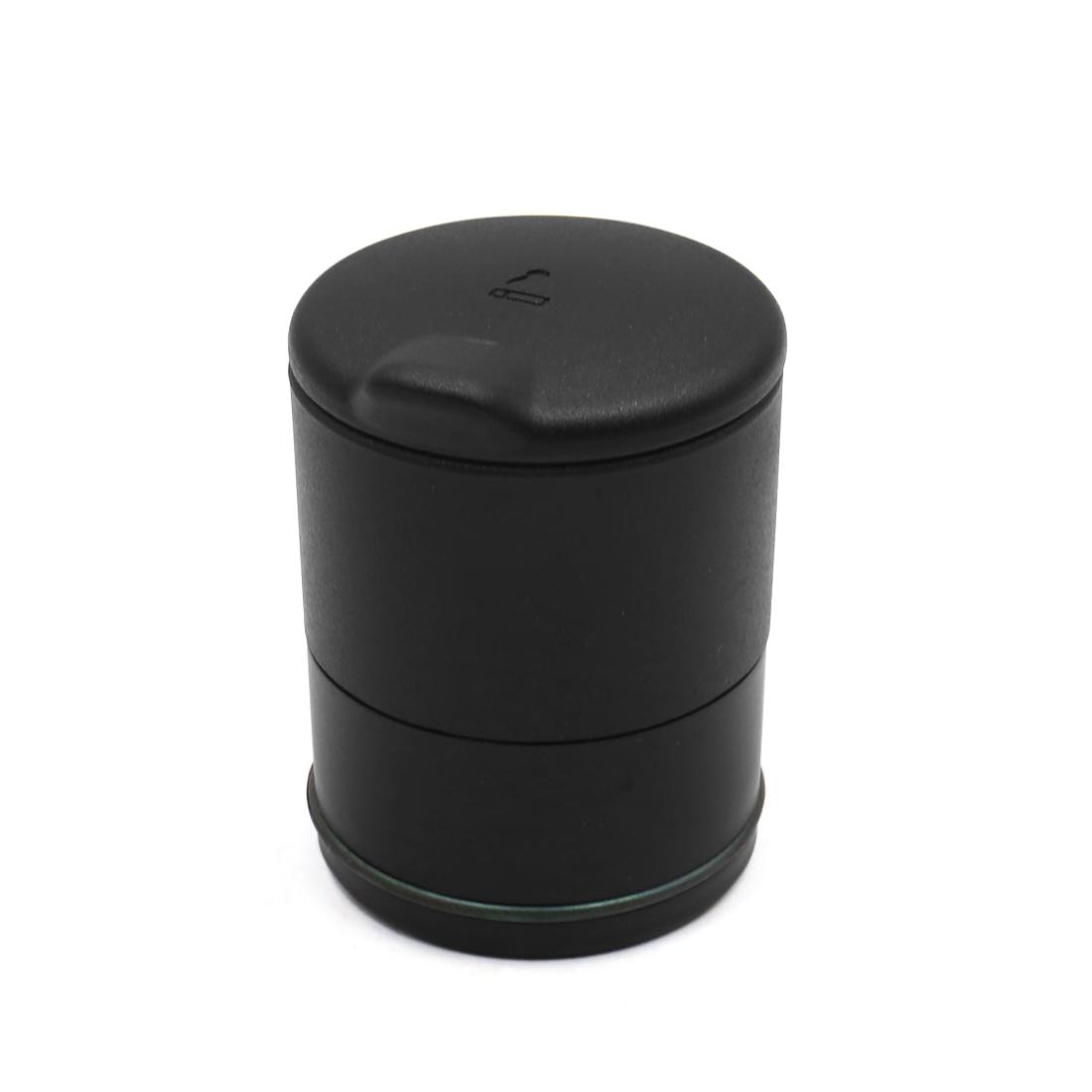 Black Plastic Portable Casing Auto Car Smoking Cigarette Ashtray Holder
