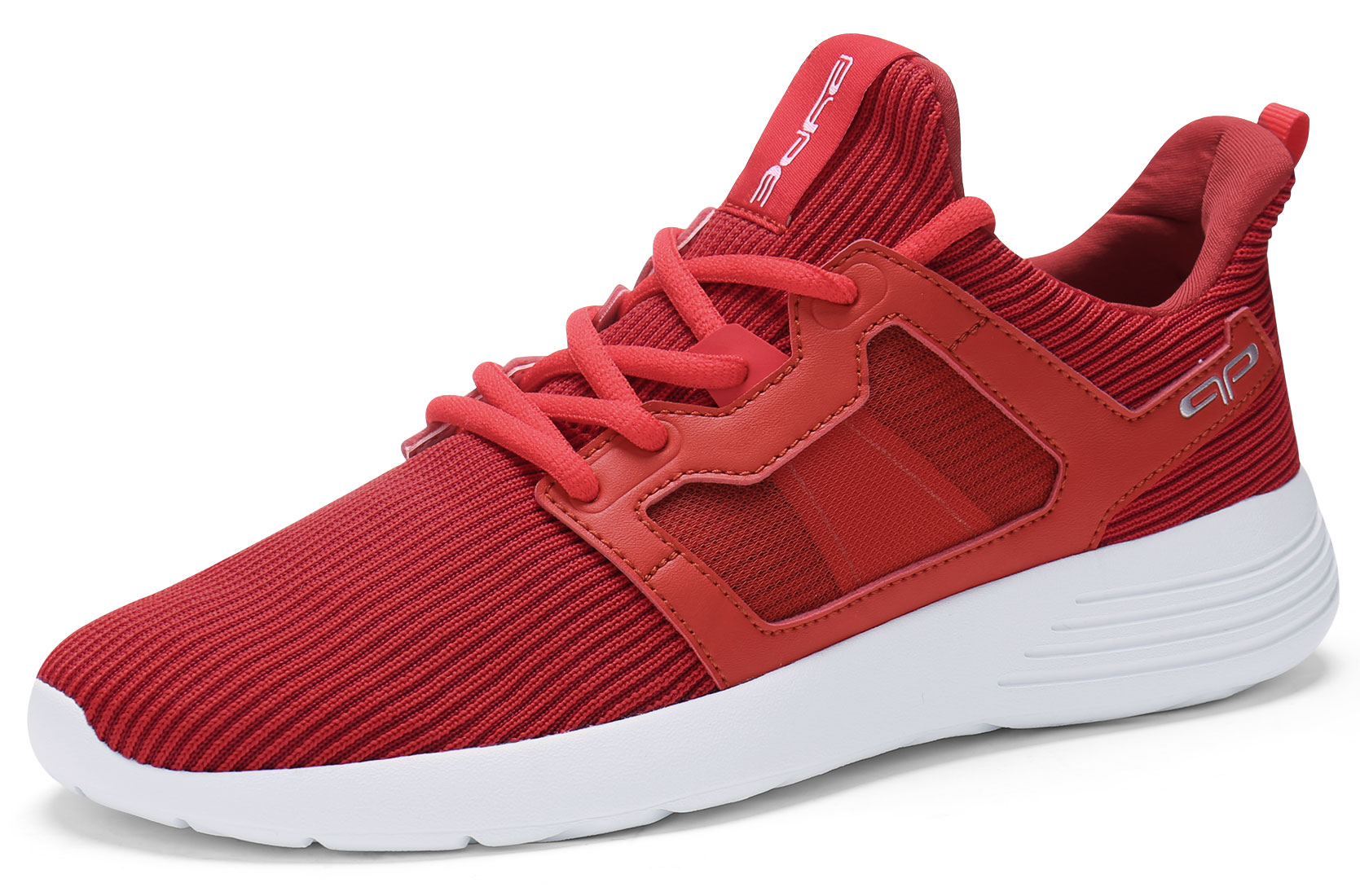PYPE Women Lightweight Lace Up Mesh Training Sneakers Red US 8