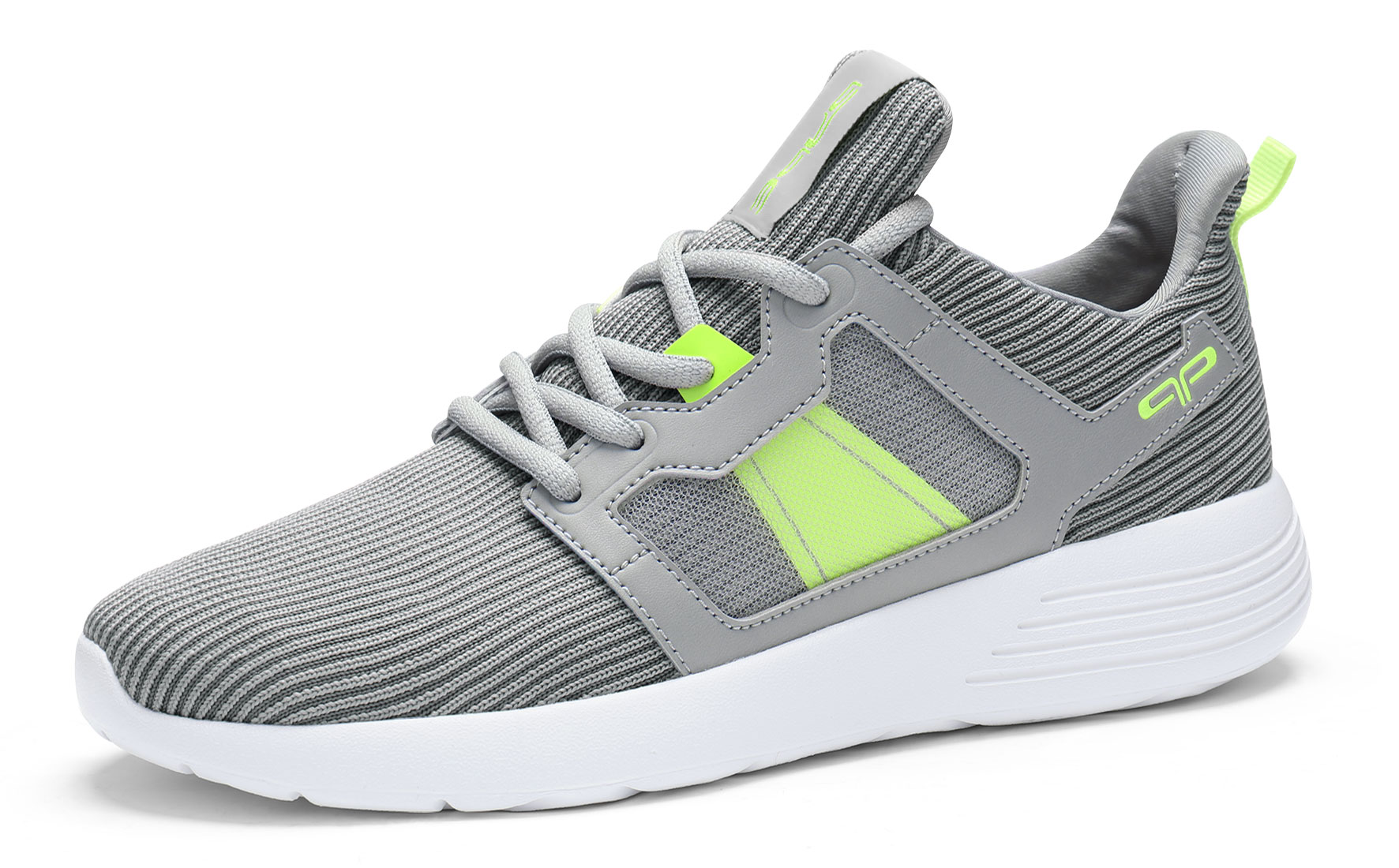 PYPE Women Lightweight Lace Up Mesh Training Sneakers Gray US 11