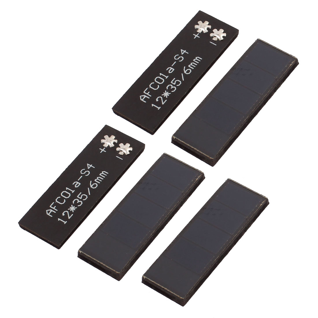 5Pcs 2V 20mA Polycrystalline Solar Cell Panel Module Charging Board 12mm x 35mm